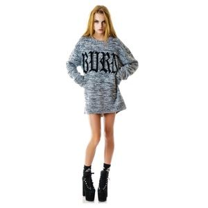 UNIF BURN OUT SWEATER XS